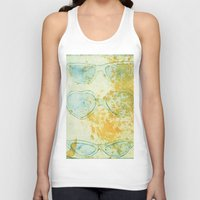 sunglasses Tank Tops featuring Sunglasses by Leah Gonzales