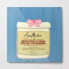 Shea Moisture Hair and Beauty Products Metal Print