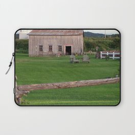 The Old Barn and Yard Laptop Sleeve