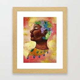 Egyptian Gem Framed Art Print