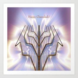 Happy Chanukah! Art Print