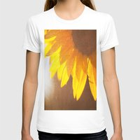 sunflower T-shirts featuring Sunflower by Maite Pons