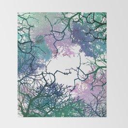 Treetops Throw Blanket