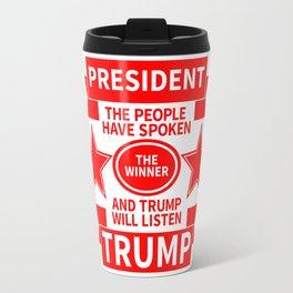 President Trump Travel Mug