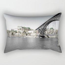 OPORTO BY THE BRIDGE (PORTUGAL) Rectangular Pillow