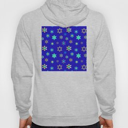 Hanukkah Holidays Celebration of Miracles Pattern Hoody