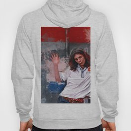 Painting Illustration Of Eddie From The Cult Classic Film Empire Records Hoody