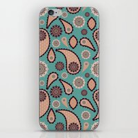 paisley iPhone & iPod Skins featuring Paisley by Lisi Fkz
