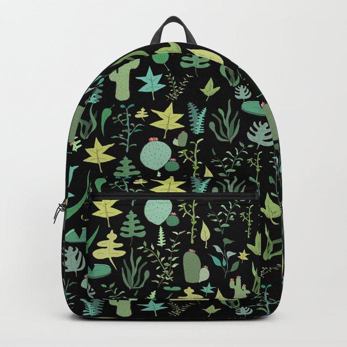 black green garden Backpack