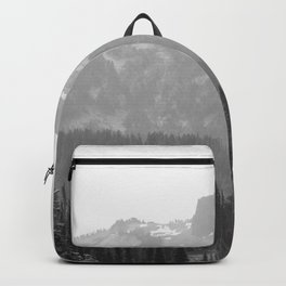 Go Beyond - Black and White Wilderness Nature Photography Backpack