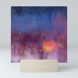 Meditation Painting: Mountain Meadow Mini Art Print