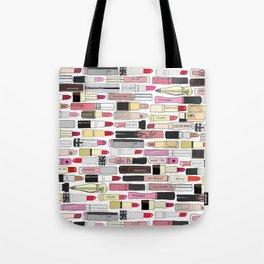 Lipstick War Tote Bag