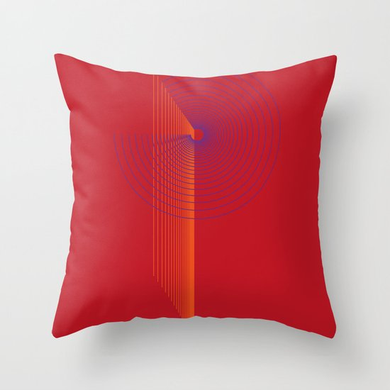 P like P Throw Pillow