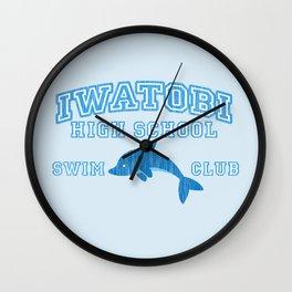 Iwatobi - Dolphin Wall Clock