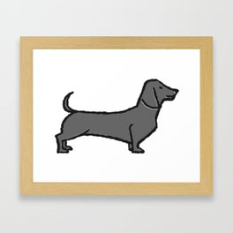 Lab the Dog Framed Art Print