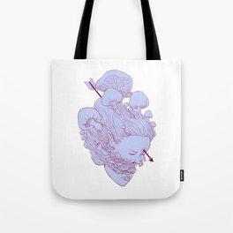 heart of fungus Tote Bag