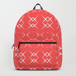 Coral:  Pattern No. 3 Backpack