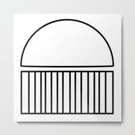Raincloud Metal Print