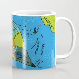 Uncharted Waters Coffee Mug