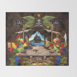 Pirates Cove Throw Blanket