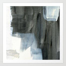 The Curious Inbetween #9 - Abstract Painting Art Print