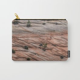 Slated Carry-All Pouch