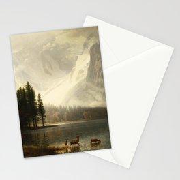 Albert Bierstadt Estes Park Colorado Whyte's Lake Stationery Cards