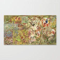 Jeune fille de joie usine (Factory girl joy) Canvas Print