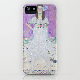 Mada Primavesi by Gustav Klimt iPhone Case
