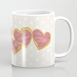 Independent donut hearts Coffee Mug