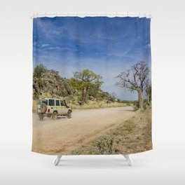 Leopold Downs Road Shower Curtain