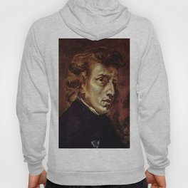 The Portrait of Frédéric Chopin by French artist Eugène Delacroix (1838) Hoody