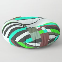 Geometric design - Bauhaus inspired Floor Pillow