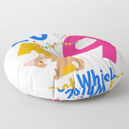 New Year's Eve 2019 Happy New Year Gift Cat Floor Pillow