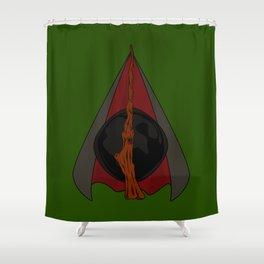Deathly Hallows Shower Curtain
