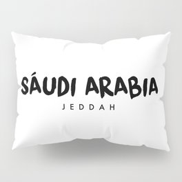 Jeddah x Saudi Arabia Pillow Sham