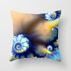 Tidal Beauty Throw Pillow