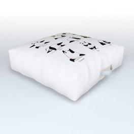 Yoga Panda II Outdoor Floor Cushion