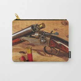 Old Double Barrel Stevens Carry-All Pouch