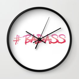 Badass Wall Clock