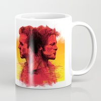 fight Mugs featuring fight  by İsmail Kocabas