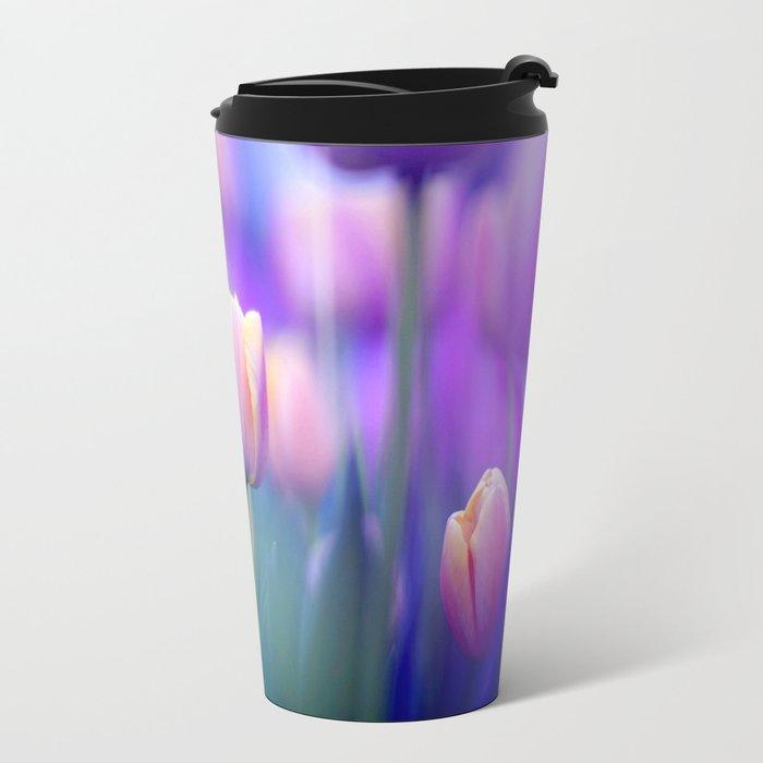 Tulips , Flowers  , Tulips , Flowers  games, Tulips , Flowers  blanket, Tulips ,  Metal Travel Mug