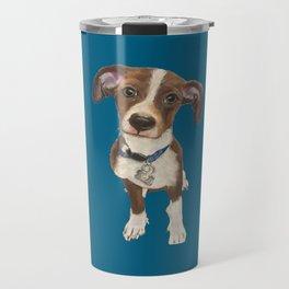 Cute Terrier Mix Travel Mug