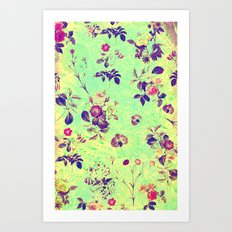 Vintage Flowers XLII - for iphone Art Print
