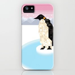 Penguin Time iPhone Case