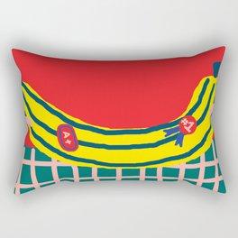 A+ Banana Rectangular Pillow