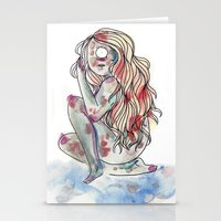 cyclops Stationery Cards featuring Cyclops by MarieBoiseau
