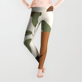Minimal Line Dress Leggings