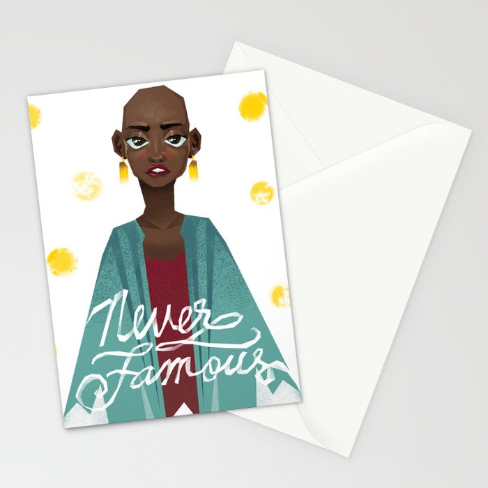 Never Famous Stationery Cards