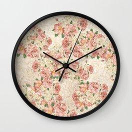 30leaf Wall Clock